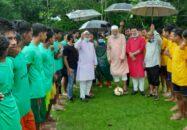 কাউখালীতে বঙ্গবন্ধু গোল্ডকাপ সেমিফাইনাল খেলা অনুষ্ঠিত