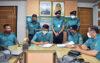 বিএমপি পুলিশের বার্ষিক কর্মসম্পাদন চুক্তি স্বাক্ষর